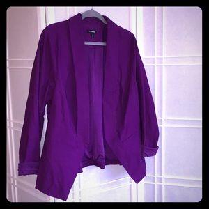 Royal Purple Blazer